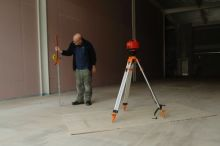 Another shot of post screed survey