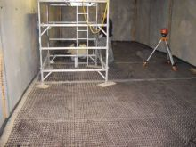 A basement extension using a Delta - MS waterproof membrane tanking system.